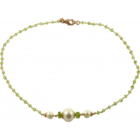 ring and pearls peridot pearl seed